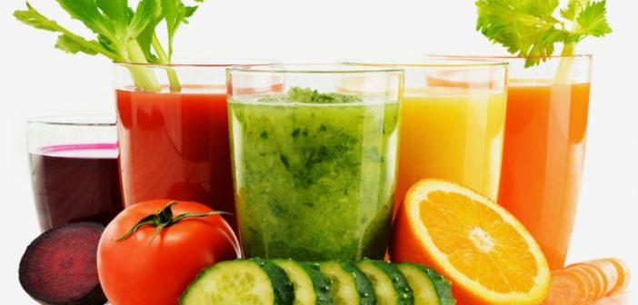 Centrifugati detox - Centrifugati depurativi - ricette per depurare l'organismo con frutta e verdura